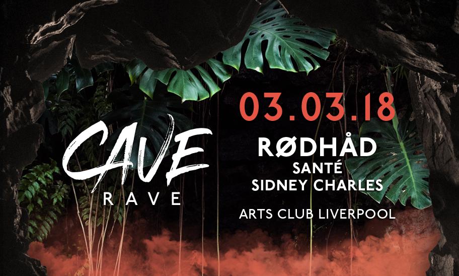 CAVE RAVE @ ARTS CLUB LIVERPOOL, UK