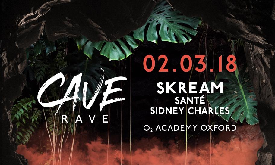 CAVE RAVE @ O2 ACADEMY OXFORD, UK
